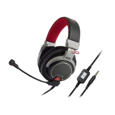 "Audio-Technica ATH-PDG1Open-Air Premium Gaming Headset with 6"" Boom Microphone"