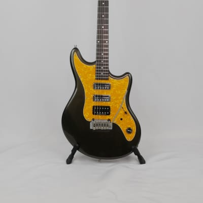 Schecter Hellcat 2000's Black/Brown & Gold/Yellow for sale