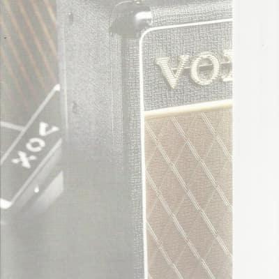 VOX-Brochure/Catalog, 1998/1999