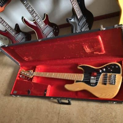 Fender Marcus Miller Artist Series Signature Jazz Bass V 2003 - 2014 Natural for sale