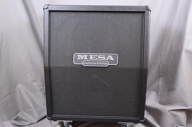 Mesa Boogie Rectifier 2x12 Vertical Cab 2017 Black Used