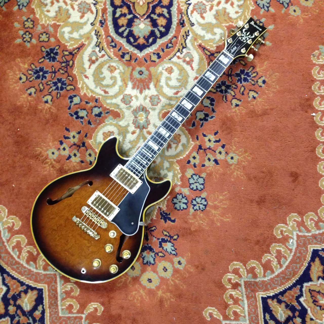 ibanez artist am 205 semi hollow body electric guitar reverb. Black Bedroom Furniture Sets. Home Design Ideas
