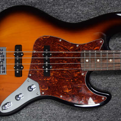 KSD (Ken Smith Design) V-60 Jazz Bass, 3-Tone Sunburst with Rosewood *NOS Floor Demo = Save $ for sale