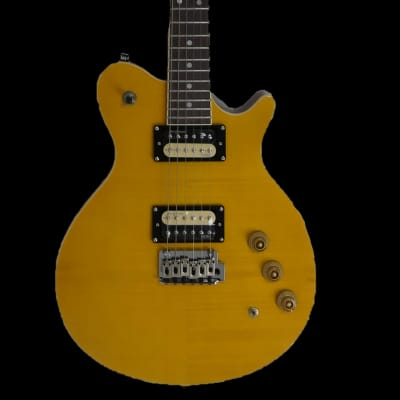 Revelation RGS-33 Blonde Flame Maple Electric Guitar for sale
