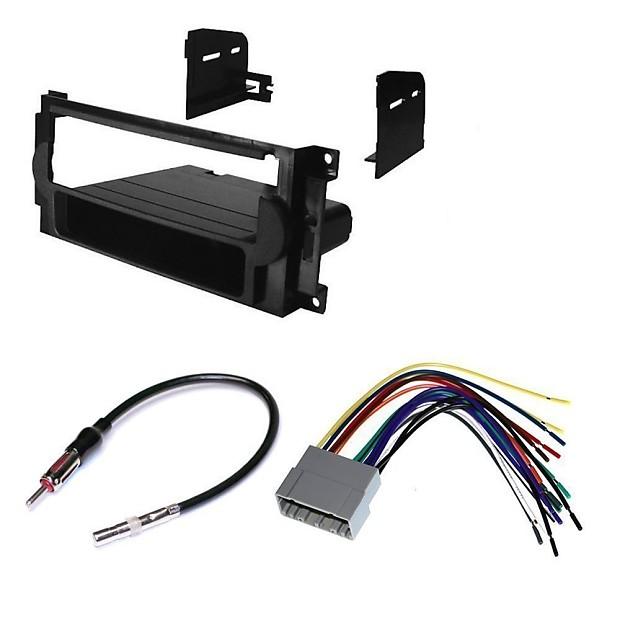Fantastic Car Stereo Dash Install Mounting Kit Wire Harness Radio Reverb Wiring Digital Resources Dimetprontobusorg