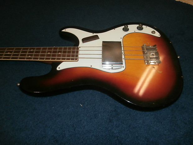 vintage 1960 39 s teisco p bass electric four string bass reverb. Black Bedroom Furniture Sets. Home Design Ideas