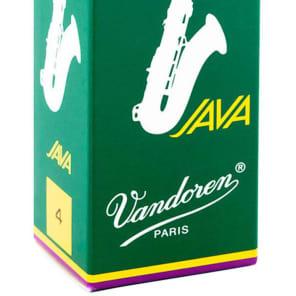 Vandoren SR274 Java Series Tenor Saxophone Reeds - Strength 4 (Box of 5)