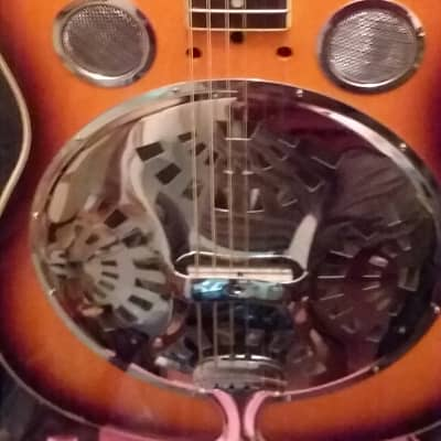 Stagg Roundneck Resonator Guitar 2013 Natural Sunburst for sale