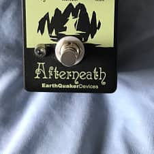 EarthQuaker Devices Afterneath 2016 black /green