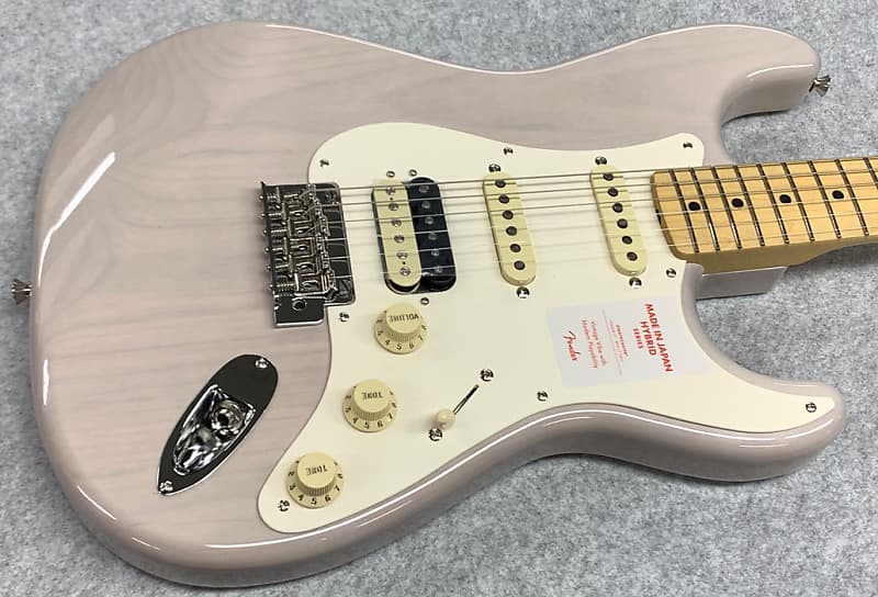 Fender Made in Japan Hybrid 50s Stratocaster HSS SN:2410 ≒3 45kg 2019 US  Blonde