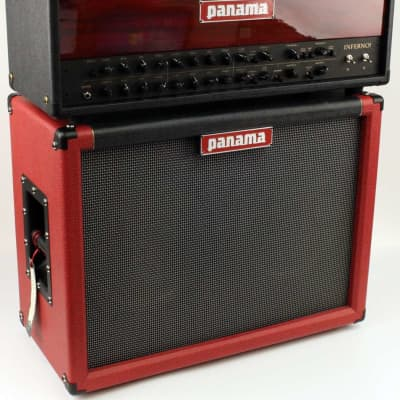 Panama Inferno 100 All-Tube Guitar Amplifier w/ 2x12 Speaker Cabinet Amp ISI5679 for sale