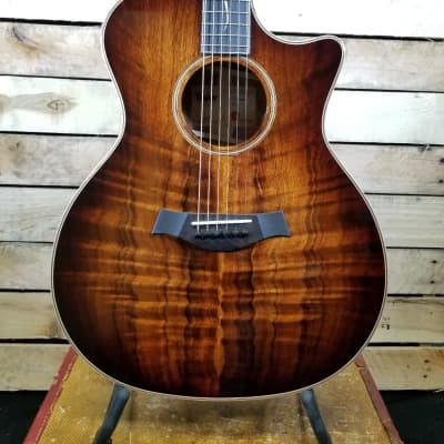 NEW Taylor K24ce with V-Class Bracing - All Koa - Edgeburst -Rich in sound and looks for sale