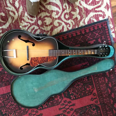 Old Kraftsman Archtop 1930's Sunburst for sale