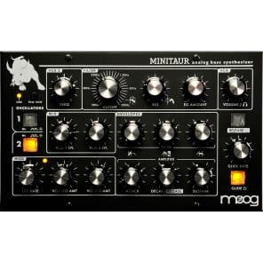 Moog TBP002 Minitaur Bass Table Top Synthesizer in Black
