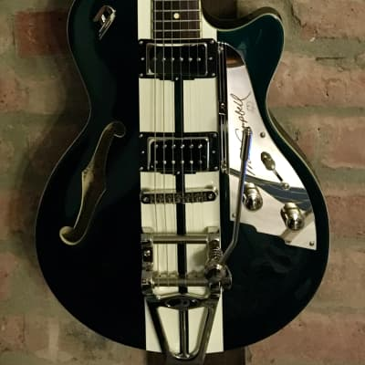 Duesenberg Alliance Mike Campbell 40th Anniversary Catalina Green Electric Guitar for sale