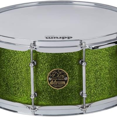 Dios Mpl 6.5x14 Snare Emerald Green Spkl