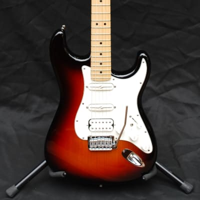 Fender 2013 American Deluxe HSS Stratocaster  Swiss Army Knife  3 Color Sunburst for sale