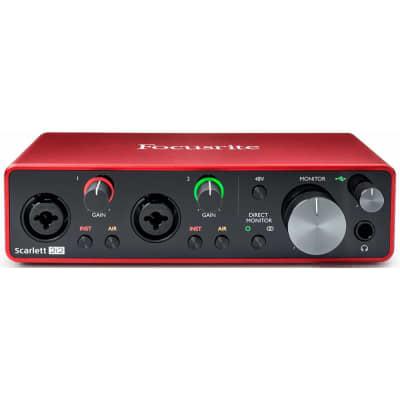 Focusrite 2i2 Scarlett USB Recording Interface – 3rd Generation