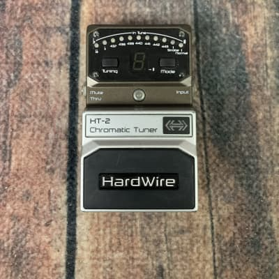 Used Digitech Hardwire HT-2 Chromatic Tuner Pedal with Box
