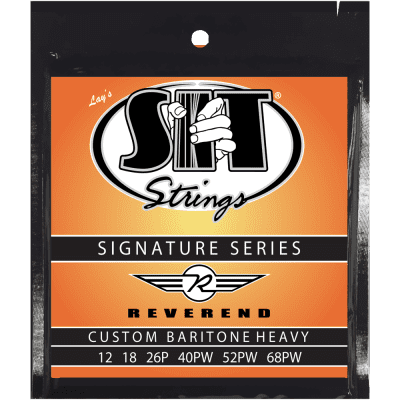 SIT Strings SS-S1268 Rev Reverend Guitars Signature Baritone Strings