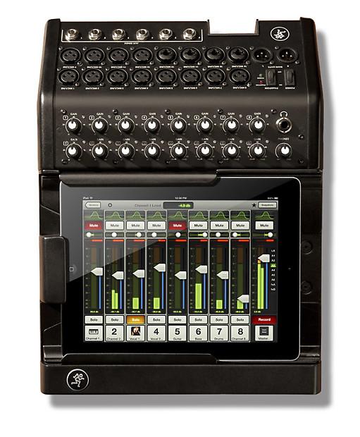 mackie dl1608 16 channel digital live sound mixer with ipad reverb. Black Bedroom Furniture Sets. Home Design Ideas