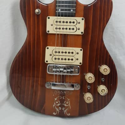 Vintage 1977 RARE D'agostino Benchmark Custom M-20 By Eko (Italy) thru neck for sale