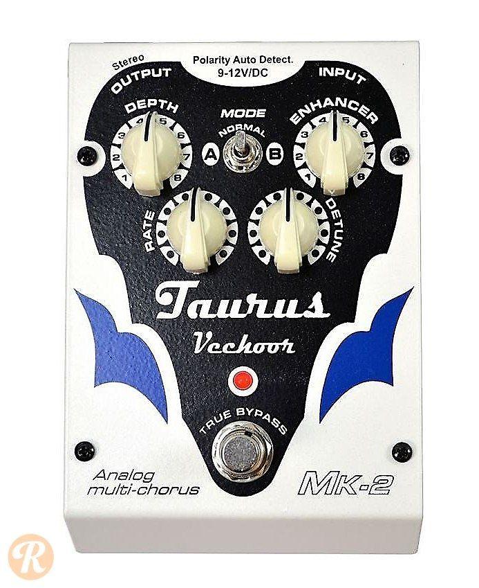 Taurus Amplification VechoorBL Bass Chorus Effect Pedal ...