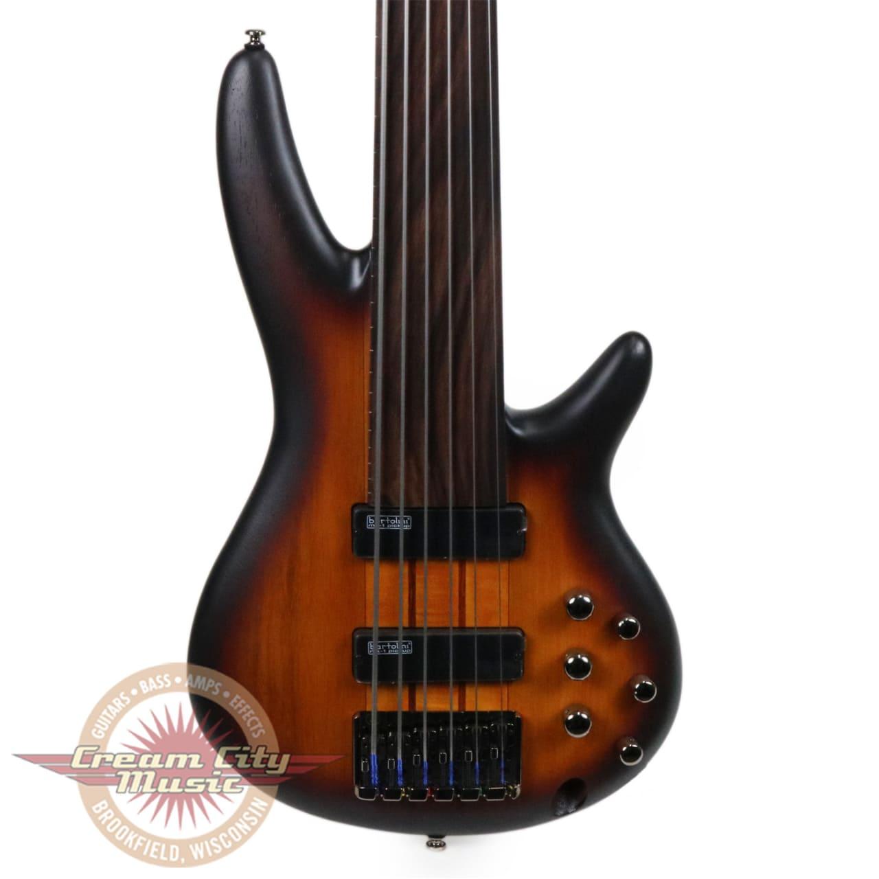 Brand New Ibanez Srf706 Ibanez Workshop 6 String Fretless