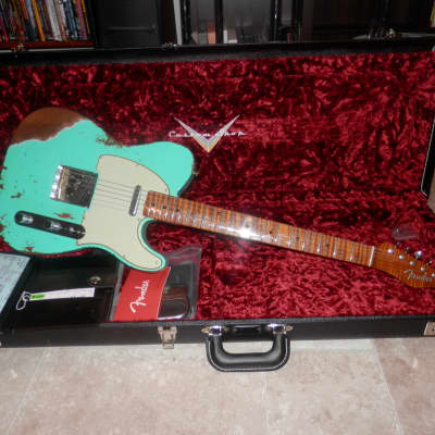 Fender Fender custom shop GT11 Relic telecaster 2020 surf green 2020 surf green