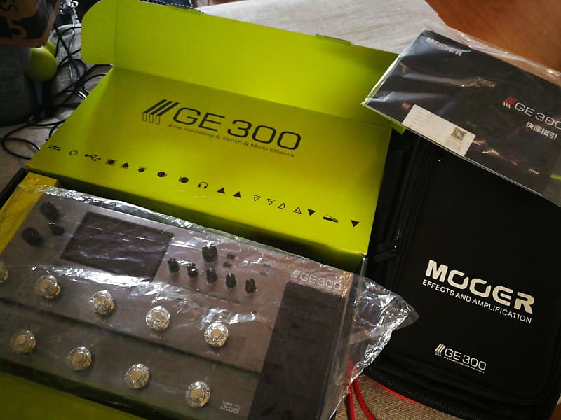 Mooer Ge300 Guitar Multi Effects Pedal  | Music for Medicine