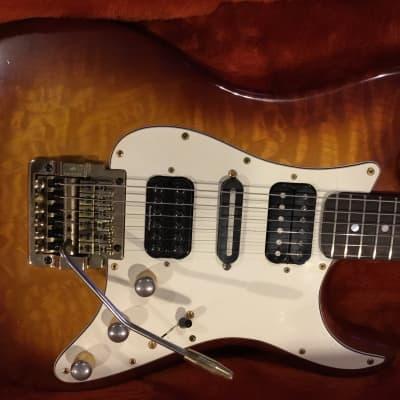 Valley Arts Guitar - Mike McGuire Custom Build - 1983 Tobacco Sunburst