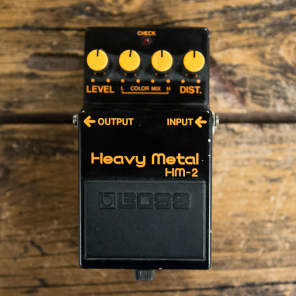 Boss HM-2 Heavy Metal Distortion Pedal