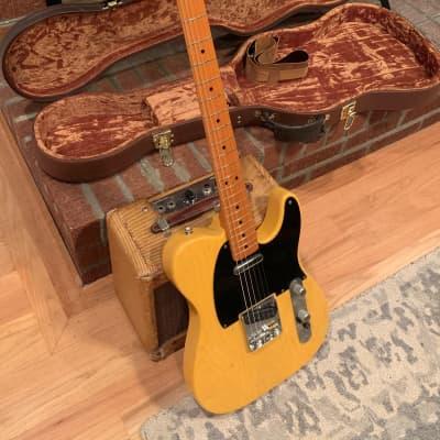 Fender American Vintage '52 Telecaster w/McVay G Bender Butterscotch Blonde 2000s