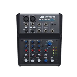 Alesis Multimix 4 USB 4-Channel Mixer