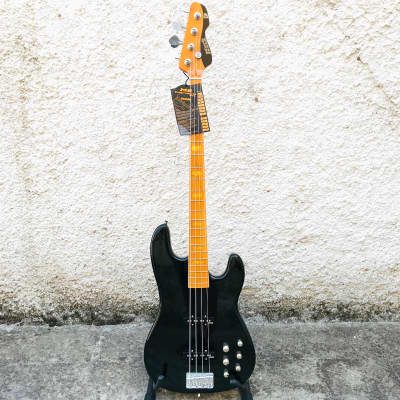 Markbass MB GV 4 Gloxy Val Black Electric Bass w/ Soft Bag for sale
