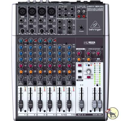Behringer Xenyx 1204USB 12-Input 2/2-Bus Live Sound Analog Mixer USB/Audio Interface