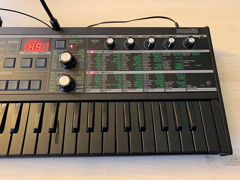 korg microkorg synthesizer vocoder reverb. Black Bedroom Furniture Sets. Home Design Ideas