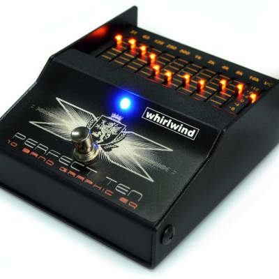 Whirlwind Perfect 10  Ten Band Electric Guitar Graphic Equalizer Pedal Studio Grade USA for sale