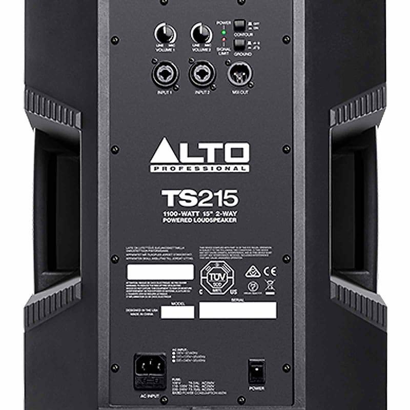 Numark NS7III 4-Channel Serato DJ Controller w Alto TS215 15