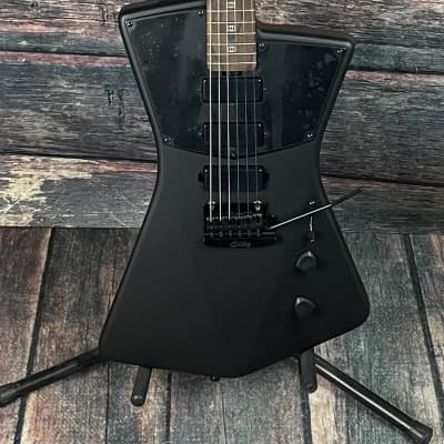 Sterling by Music Man STV60 St. Vincent Signature Series Electric Guitar- Stealth Black for sale