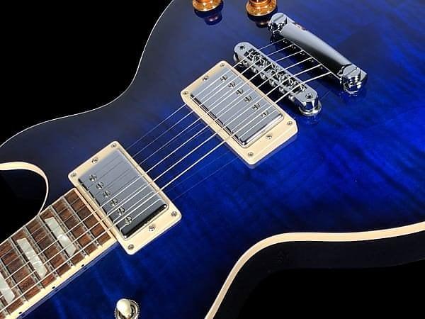 2018 Gibson Les Paul Standard Flame Top ~ Trans Blue Burst