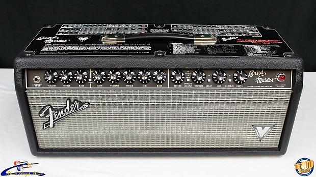 fender band master vm hd 40w tube guitar amp head reverb. Black Bedroom Furniture Sets. Home Design Ideas