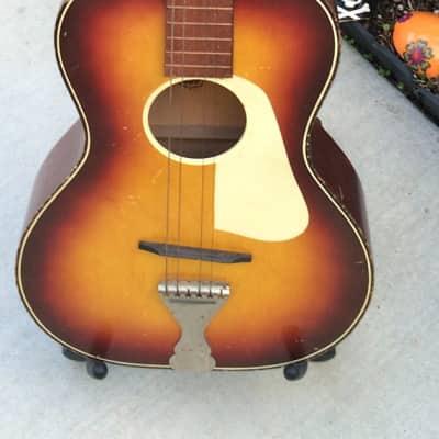 Rare Vintage 1960's USA Made Leban Parlor Guitar for sale