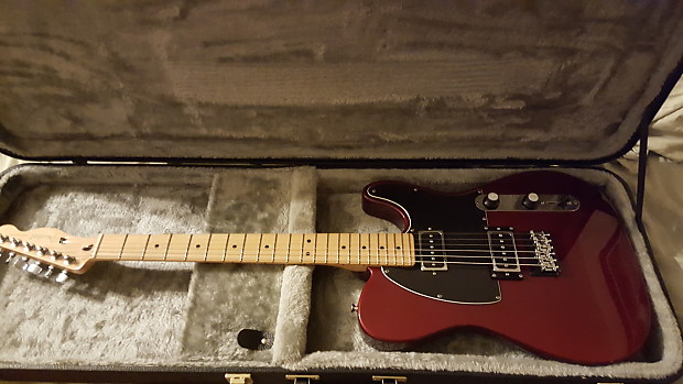 Red Fender Blacktop Telecaster With Gfs Dream 90 Pickups And Reverb