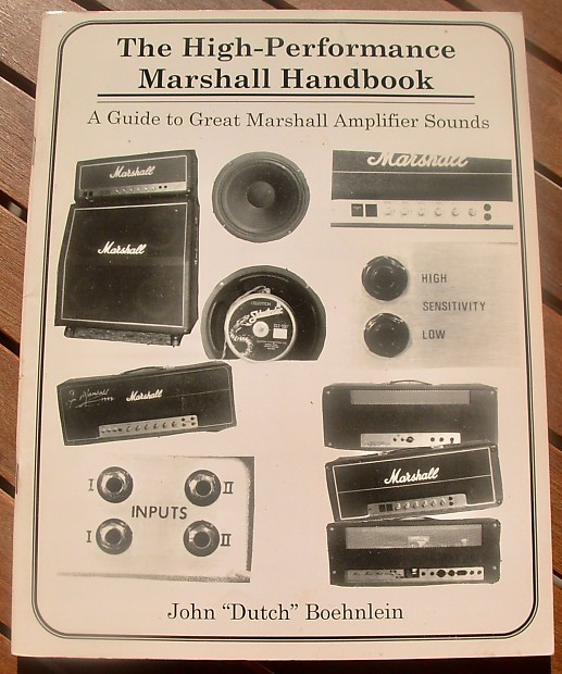 The High Performance Marshall Handbook A Guide To Great Reverb