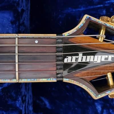 Artinger Custom Semi-Hollow 2012 Koa for sale