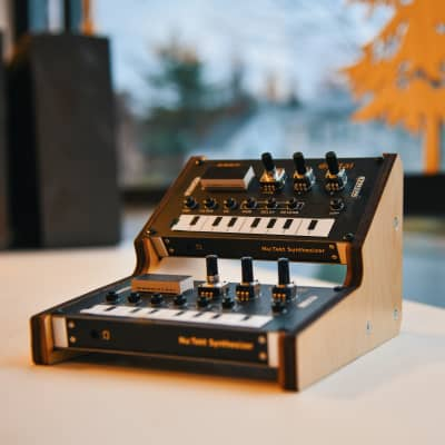 ImpossibleShape 2 tier Nu:TektRack - wooden stand for Korg Nu:Tekt NTS-1 synth units 2020 Natural