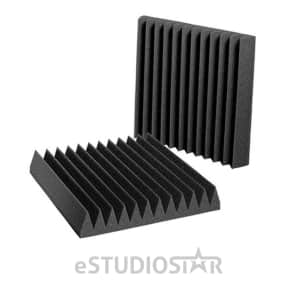 """Auralex Studiofoam Wedgies 1'x1'x2"""" Pads (24)"""