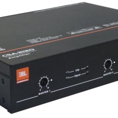 JBL CSA2120 2x120W Amplifier at 4 / 8 Ohms