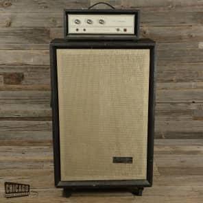 Silvertone Model 1466 Solid State Bass 150 6x10 Piggyback